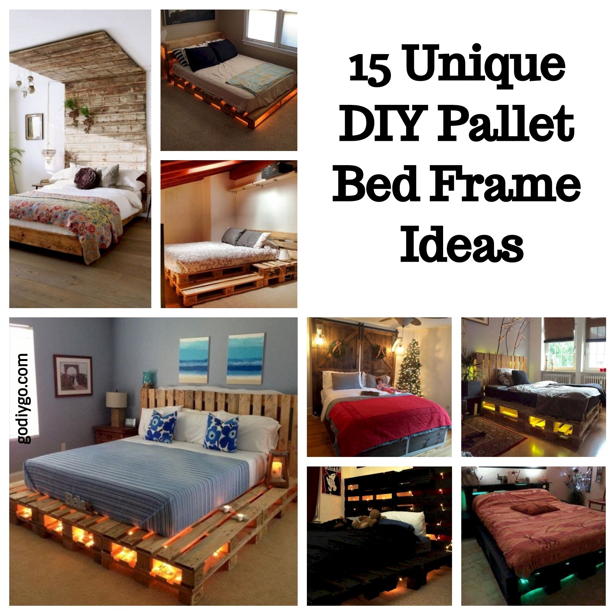 21 DIY Bed Frame Projects  Sleep in Style and Comfort