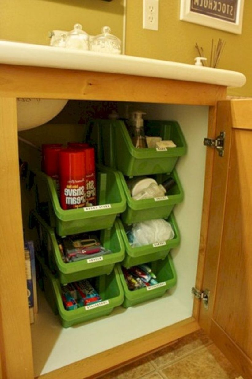 Diy rv organization and storage for travel trailers