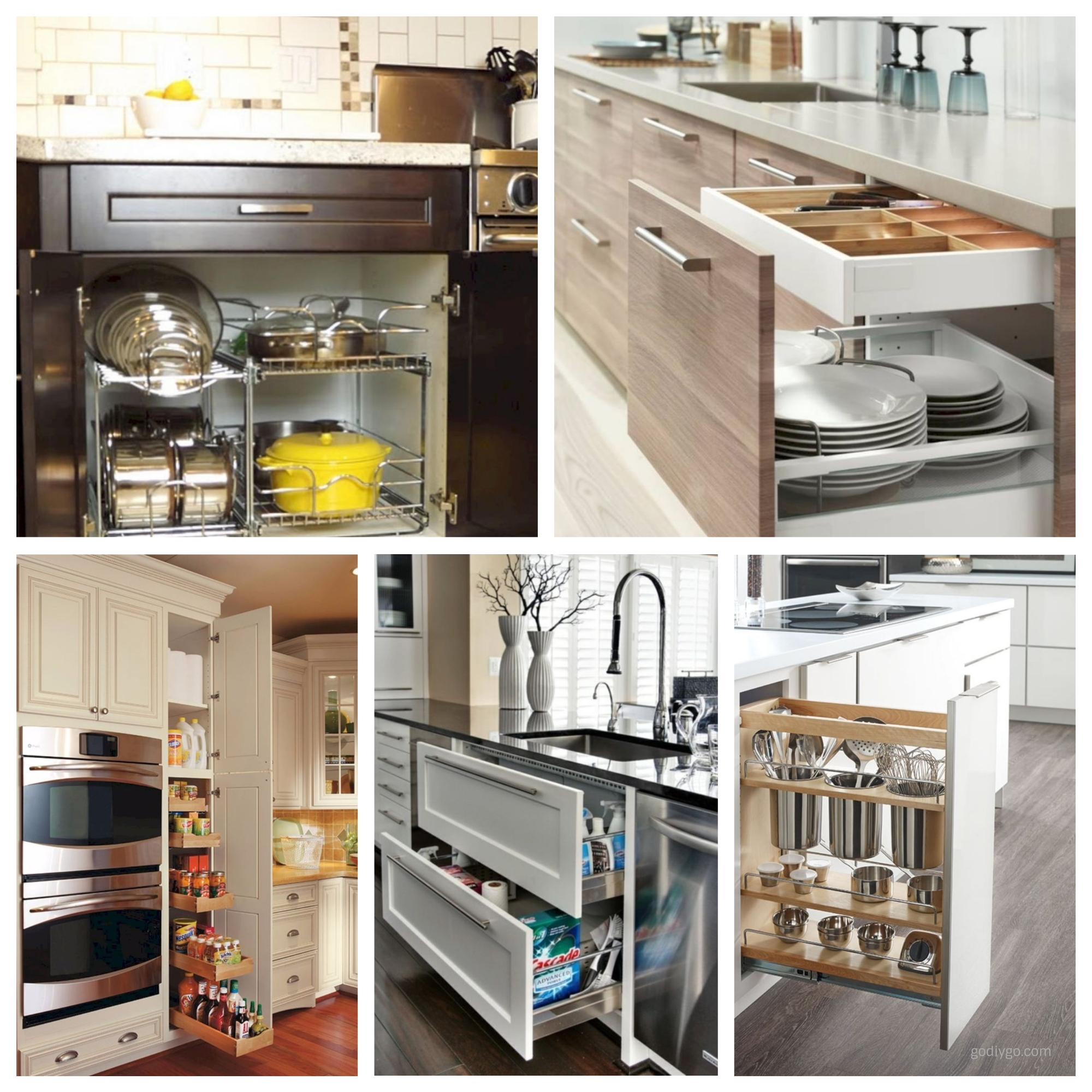 10 Kitchen Cabinet Tips: 44 Smart Kitchen Cabinet Organization Ideas