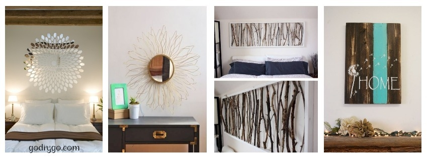 45 simple diy wall art ideas for your home godiygo com - Simple diy ideas that could work for your home ...