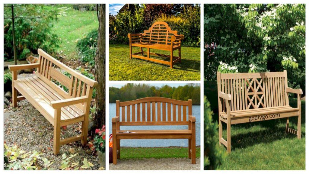 41 Teak Garden Benches Ideas For Your Outdoor Godiygo Com