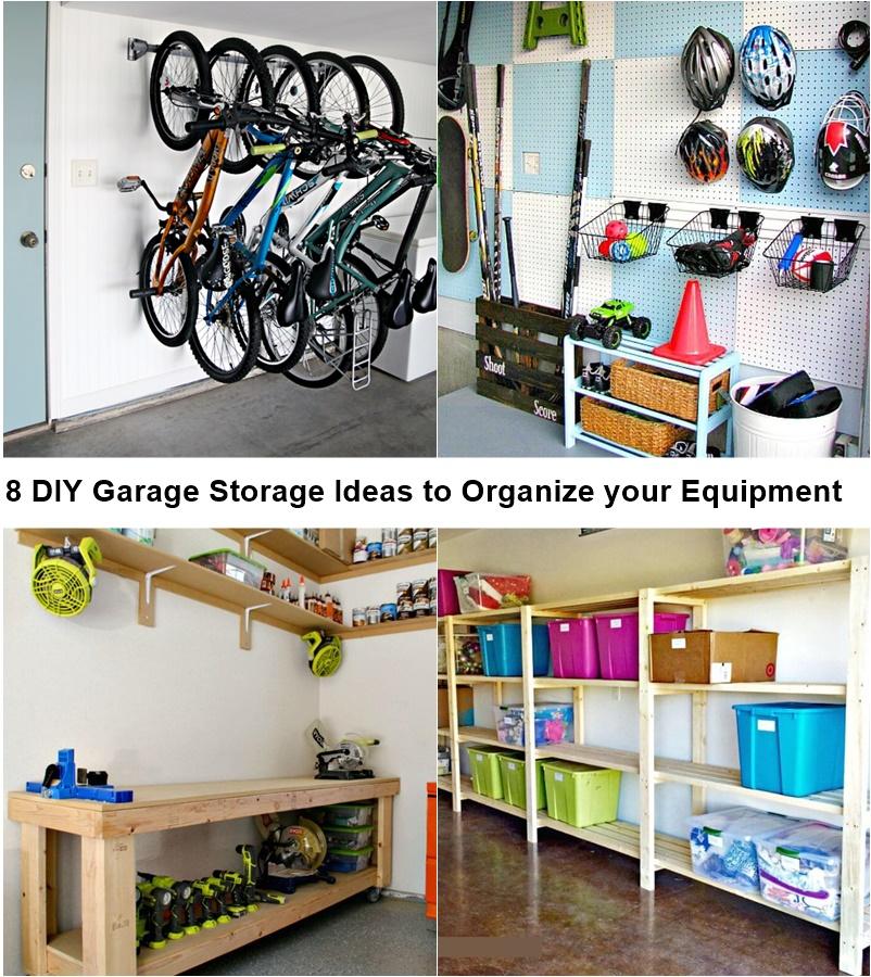 8 Diy Garage Storage Ideas To Organize