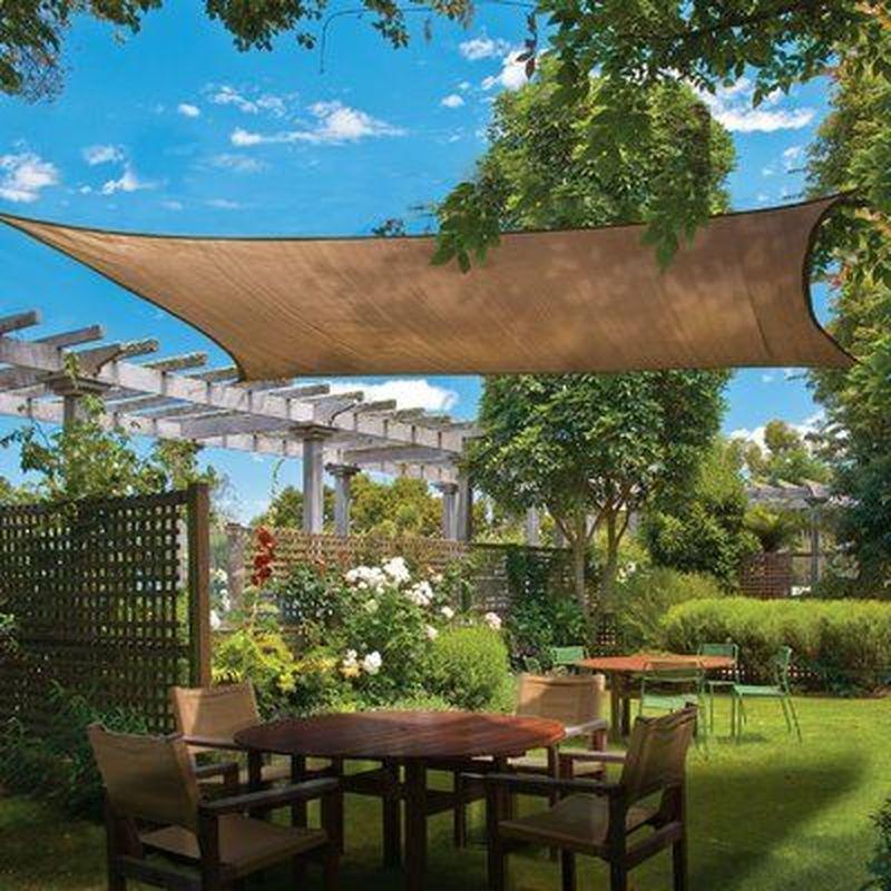 25 DIY Outdoor Sun Shades That Add Color To Your Outdoor Decor - GODIYGO.COM